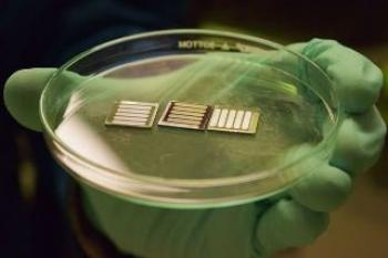 Metal oxide layers improve the stability of perovskite solar cells